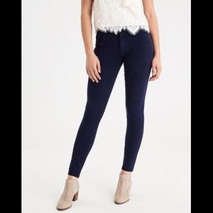 American Eagle Outfitters Dark Wash Hi-Rise Jeans